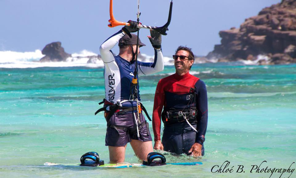 Destination Saint Barth - 7eme Ciel Kite Surf School - Enguerrand