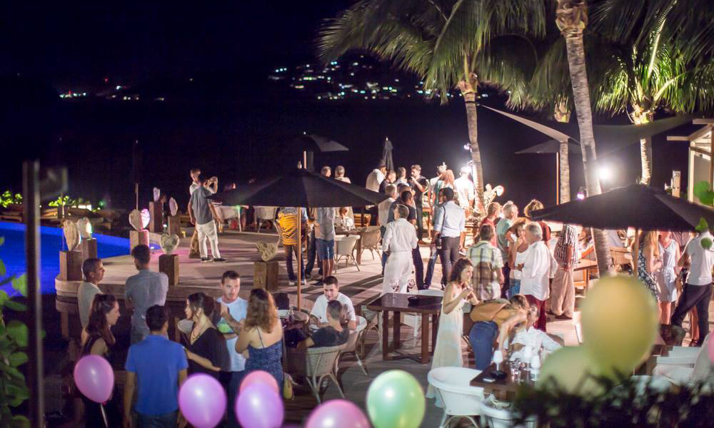 Art Party Christopher Hotel St Barth